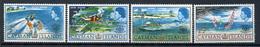 1967 - CAYMAN ISLANDS - Mi. Nr. 194/197 - NH - (CW4755.6) - Cayman Islands