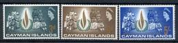 1968 - CAYMAN ISLANDS - Mi. Nr. 198/200 - NH - (CW4755.6) - Cayman Islands