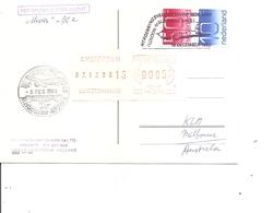 Pays-Bas ( CP En Vol Spécial Amsterdam - Melbourne De 1984 à Voir) - Periode 1980-... (Beatrix)