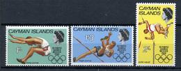 1968 - CAYMAN ISLANDS - Mi. Nr. 201/203 - NH - (CW4755.6) - Cayman (Isole)