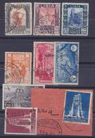 COLONIE ITALIANE LIBIA 1931/37 / 9v Usati - Libye