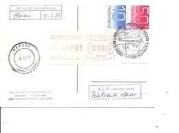 Pays-Bas ( CP En Premier Vol  Amsterdam - Harare De 1983 à Voir) - Periode 1980-... (Beatrix)
