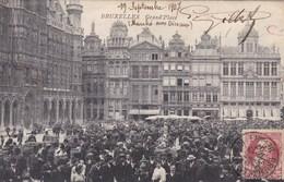 Brussel, Bruxelles, Grand Place (pk47281) - Marktpleinen, Pleinen