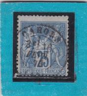 SAGE N° 78 TYPE IIB  + CACHET CAHORS / LOT  16 FEV.1878  - REF ACDIV + PIQUAGE - 1876-1898 Sage (Type II)