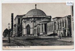 TURCHIA-ISTAMBUL-LE TOMBEAU DU SULTAN MAHMOUD-1900-NON VIAGGIATA - Turchia