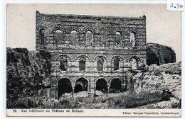 TURCHIA-VUE INTEREUR DU CHATEAU DU BELISAIR Constantinople Castle Of Belisair -1900-NON VIAGGIATA - Turchia