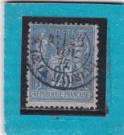 SAGE N° 78 TYPE IIB  + CACHET  PARIS  PL. DE LA MADELEINE  28 NOV. 1877  - REF ACDIV - 1876-1898 Sage (Type II)