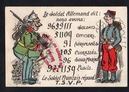 P799 - Le Soldat Allemand Dit - Humoristique - Patriotique - WW1 - Humor