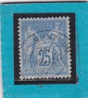 SAGE N° 78 TYPE IIB  + CACHET  MONTCUQ  /  LOT    19 OCT 1877 - REF ACDIV - 1876-1898 Sage (Type II)