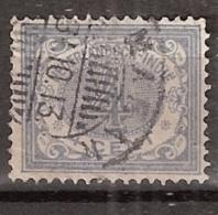 Ned Indie 1909 Cijfer. 4ct  NVPH 45 Gestempeld - Nederlands-Indië