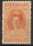 Ned Indie 1922? SPECIMEN - Special!! Not In Catalogues. Probably A Tryout Of The 1923 Jubilee Series. MNH/** Postfris - Indes Néerlandaises