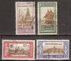 Ned Indie 1930 Jeugdzorgzegels NVPH 167-170 Gestempeld/ Cancelled - Indes Néerlandaises
