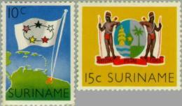Suriname 1960 5 Jaar Statuut Voor Het Koninkrijk - NVPH 347 Ongestempeld - Suriname ... - 1975