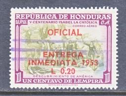 HONDURAS  C E 1  (o) - Honduras
