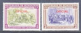 HONDURAS  C O 52-3   *  (o) - Honduras