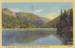 Echo Lake, Franconia Notch, WHite Mountains, New Hampshire  USA (pk47319) - White Mountains