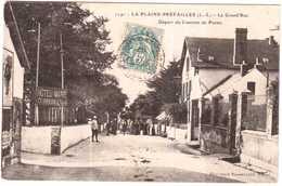 CPA LOIRE ATLANTIQUE.LA PLAINE-PREFAILLES.DEPART DU COURRIER DE PORNIC - Francia
