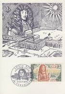 Carte  Maximum  1er  Jour    FRANCE    LOUIS  XIV    VERSAILLES   1970 - Cartes-Maximum
