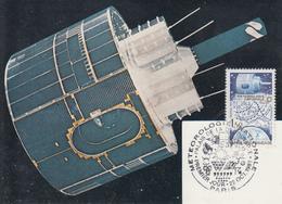 Carte  Maximum   1er  Jour    FRANCE    METEOROLOGIE   NATIONALE    1983 - Cartes-Maximum