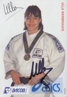 BELGIË/BELGIQUE:1996:Foto Van ULLA WERBROUCK, Olympische Kampioene Van ATLANTA 1996. - Met De Handtekening Van Ulla ... - Martiaux
