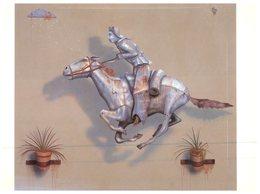 (20) Australia - Rider In The Rain - Art - Belle-Arti