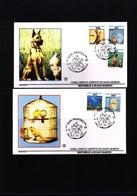 San Marino 1991 Michel 1479-83 Animals FDC - Chiens