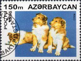 AZERBAIJAN 1996 - CANI - 1 VALORE NUOVO CTO - Azerbaijan