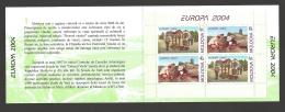 Moldova, Moldawien, Moldavia, 2004  Europa CEPT  Booklet, MH 8 - Moldova