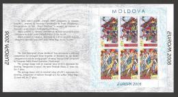 Moldova, Moldawien, Moldavia, 2006  Europa CEPT  Booklet, MH 10 - Moldova