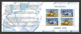 Moldova, Moldawien, Moldavia, 2008  Europa CEPT  Booklet, MH 12 - Moldova