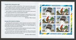 Moldova, Moldawien, Moldavia, 2010  Europa CEPT  Booklet, MH 15 - Moldova