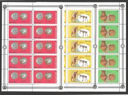Moldova, Moldawien, Moldavia, 1995 Michel 161-163 Sheetlets, Kleinbogen - Moldova