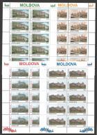 Moldova, Moldawien, Moldavia, 1995 Michel 178-181 Sheetlets, Kleinbogen - Moldova