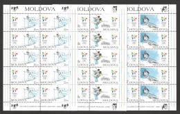 Moldova, Moldawien, Moldavia 1998 Michel 263-265 Olympic Wintergames - Moldova