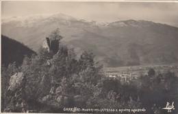 GARESSIO-CUNEO-RUDERI DEL CASTELLO E MONTE MINDINO-CARTOLINA VERA FOTOGRAFIA VIAGGIATA IL 15-7-1933-VEDERE AFFRANCATURA - Cuneo