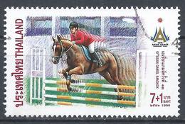 Thailand 1998. Scott #B87 (U) Asian Games, Bangkok, Equestrian * - Thaïlande