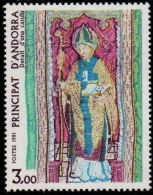 Andorra French, 1981 Relious Art - Embroidery Sint Martins 1 Value MNH - Unclassified