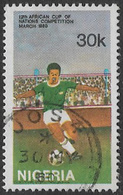 Nigeria SG405 1980 Africa Cup Of Nations Football Competition 30k Good/fine Used [37/30980/1D] - Nigeria (1961-...)