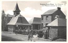 BANNEUX-NOTRE-DAME - La Chapelle - Les Pèlerins Pendant La Messe - Sprimont