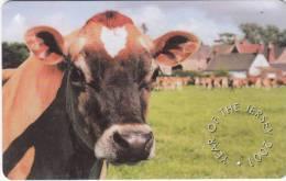 JERSEY ISL. - Cow, CN : 90JERC(0 With Barred), Tirage %20000, Used - United Kingdom