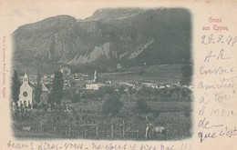 APPIANO-EPPAN-BOZEN-BOLZANO-GRUSS AUS EPPAN-CARTOLINA VIAGGIATA IL 28-8-1899 - Bolzano (Bozen)