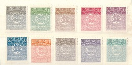 Schleswig 1 - 14        1920 - Germania