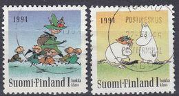 FINLAND - 1994 - Serie Completa Usata: Yvert 1202/1203, 2 Valori, Come Da Immagine. - Finlande