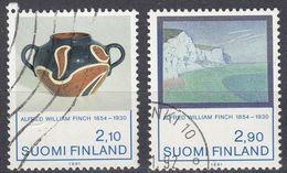 FINLAND - 1991 - Serie Completa Usata: Yvert 1112/1113, 2 Valori, Come Da Immagine. - Finlande