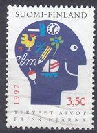 FINLAND - 1992 - Yvert 1134, Usato, Come Da Immagine. - Finlande