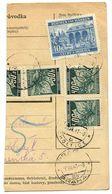 Czechoslovakia Bohemia & Moravia 1941 Parcel Card Choltice / Cholwitz, Scott 26, 47 - Bohemia & Moravia