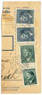 Czechoslovakia Bohemia & Moravia 1944 Parcel Card Lysá Nad Labem / Lissa An Der Elbe - Bohemia & Moravia