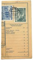 Czechoslovakia Bohemia & Moravia 1941 Parcel Card Pelhřimov / Pilgrams, Scott 44 & 47 - Bohemia & Moravia