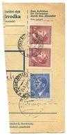 Czechoslovakia Bohemia & Moravia 1944 Parcel Card Rožmitál Pod Třemšínem / Rosenthal - Bohemia & Moravia