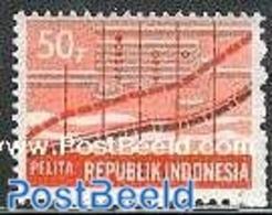 Indonesia 1984 Rebuilding Plan 1v, Dfiff Colours, (Mint NH), Science - Statistics - Briefmarken